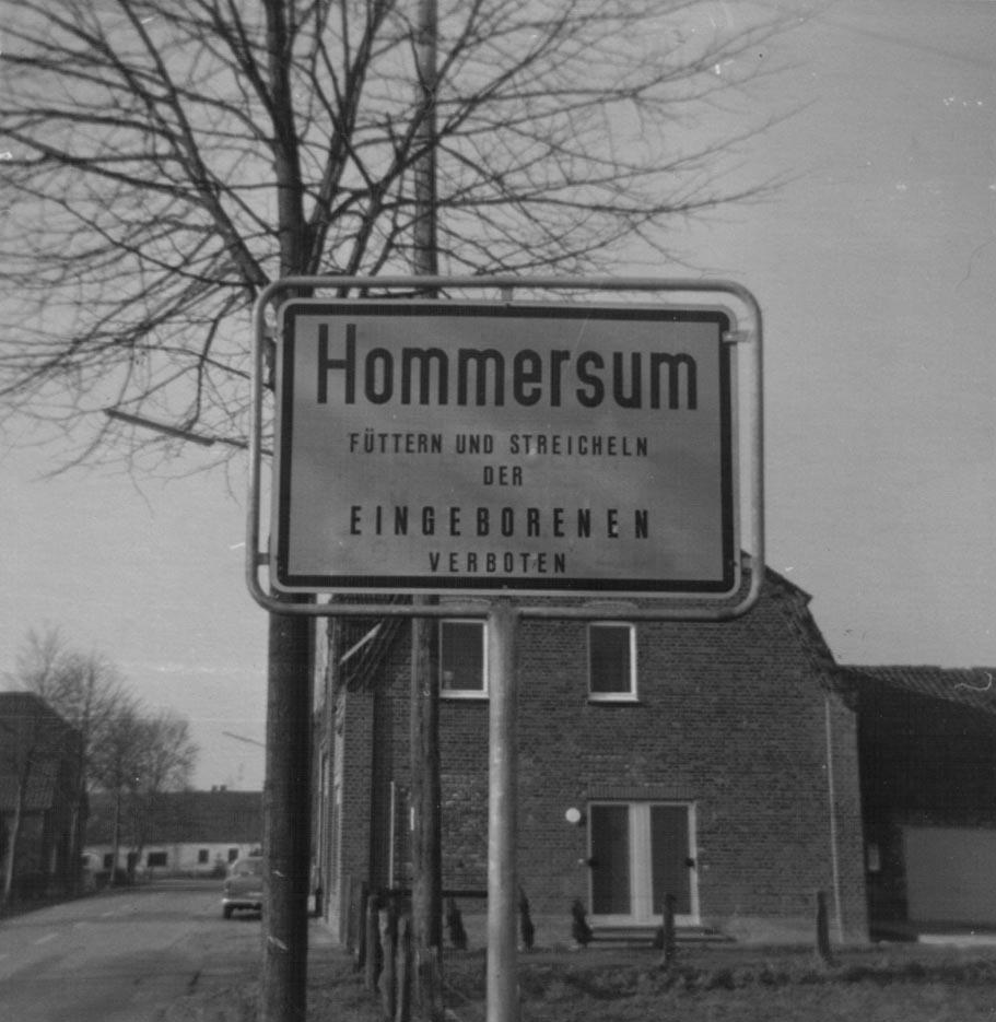 Dorf Hommersum