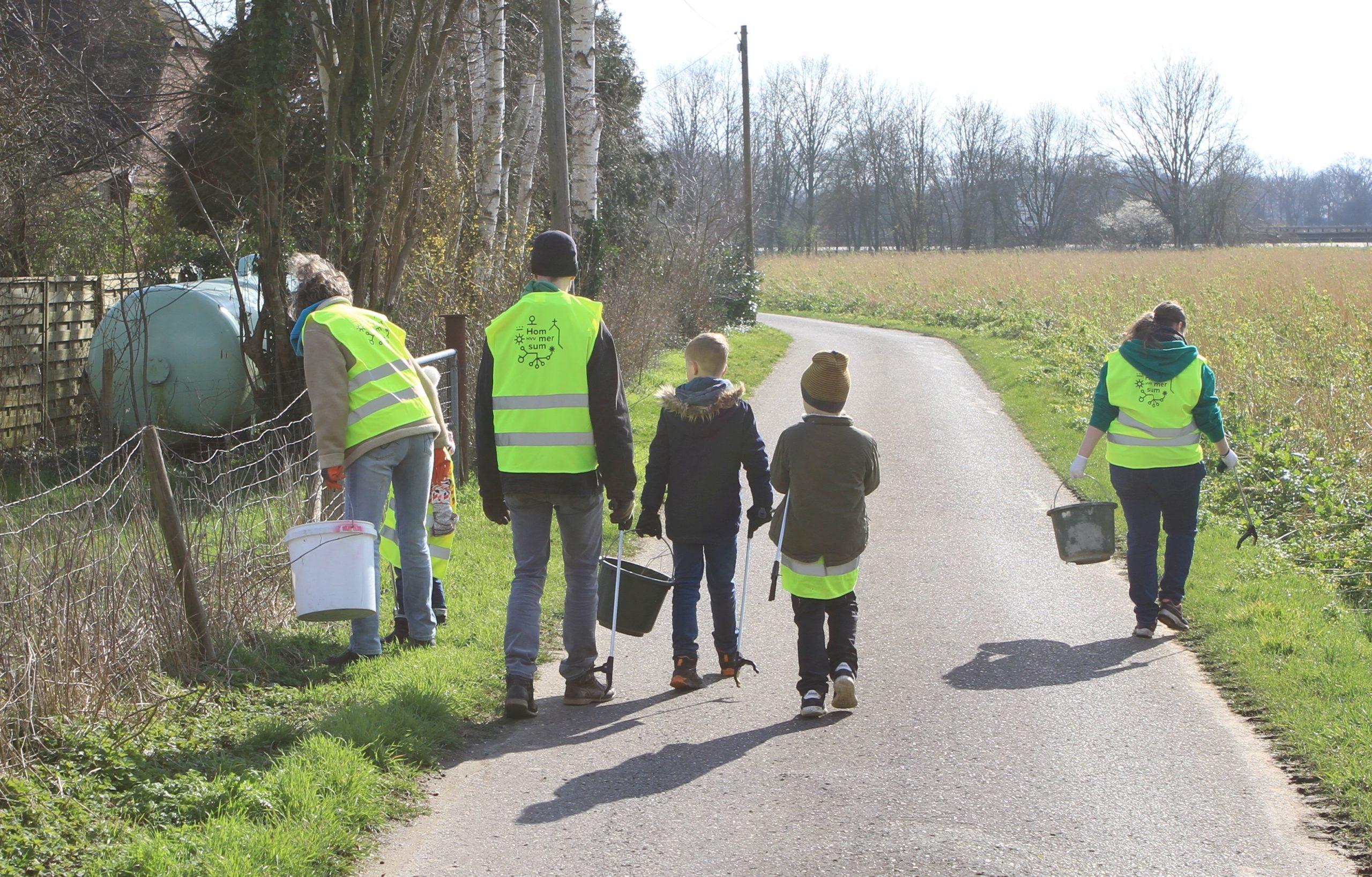 Dorfverschönerungstag am 7. März 2020 Müllsammeln