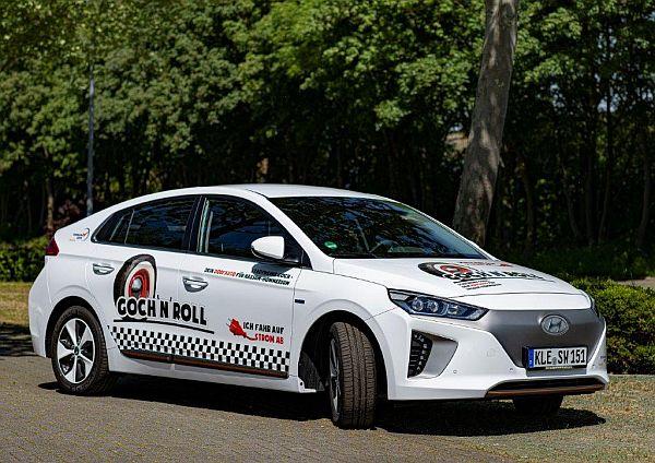 Goch'n'Roll E-Auto. Copyright Stadtwerke Goch